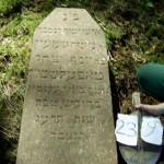 239 m Mosche Schimon Josef Jizchak Tafel?stein