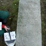 324 m David Zwi ? Familienname und Datum nicht zu lesen